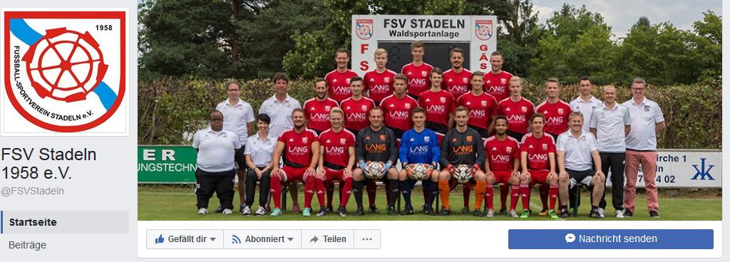 Die neue Facebook-Seite des FSV Stadeln ist da! – FSV Stadeln e.V.
